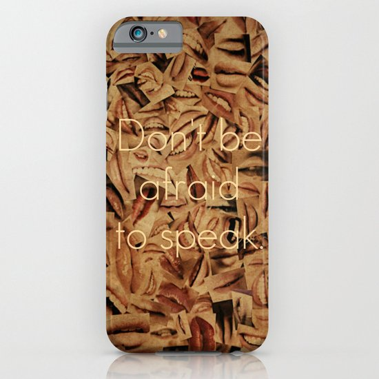 Don't Be Afraid iPhone & iPod Case