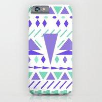 Arctic Aztek White iPhone 6 Slim Case