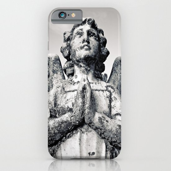 As the angel prays iPhone & iPod Case