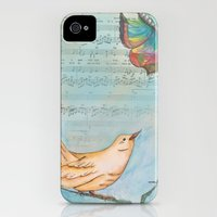 iPhone 4s & iPhone 4 Cases featuring Songbird by Catherine Holcombe