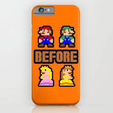Super Mario Bros Before Hoes iPhone 6s Slim Case
