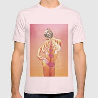 untitled 003 Mens Fitted Tee Light Pink SMALL