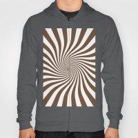 Swirl (Coffee/White) Hoody