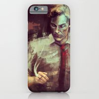 iPhone & iPod Case featuring True Detective by nlmda