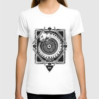 MambaSphynx Womens Fitted Tee White SMALL