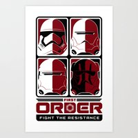 The First Order Art Print