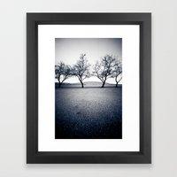 bruneau sand dunes. Framed Art Print