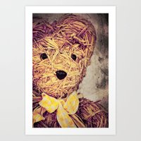 My Teddy Bear Art Print