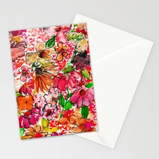 Wildflower Red Stationery Cards