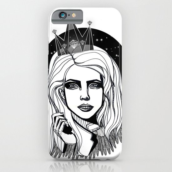 Queen of the night iPhone & iPod Case