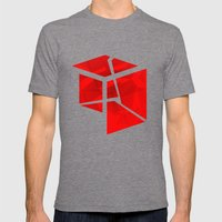 2011-07-31 #1 Mens Fitted Tee Tri-Grey SMALL