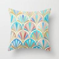 Vintage Twenties Art Dec… Throw Pillow