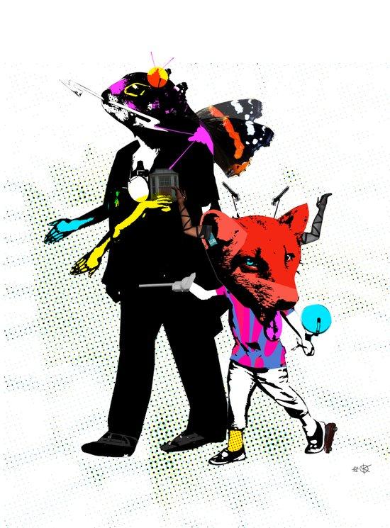 Fabulous Creatures Canvas Print