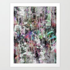 A balance between we and they but the as yet I, 10 [version, a] Art Print