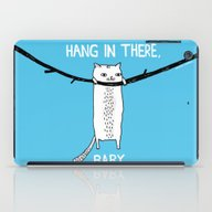 iPad Case featuring Hang In There, Baby by Gemma Correll