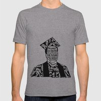 Michael Brown - Black Lives Matter - Series - Black Voices Mens Fitted Tee Athletic Grey SMALL