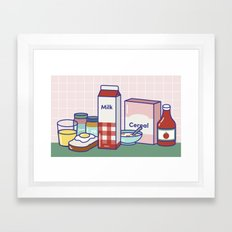 Breakfast Club Framed Art Print