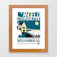 The exterminating angel Framed Art Print