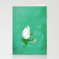 Duck Diving Stationery Cards