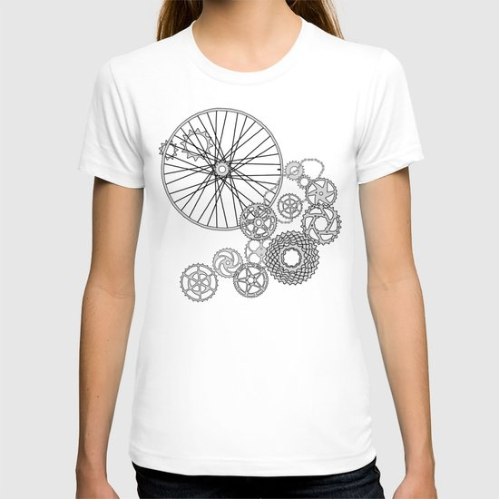 Beauty in Bicycle Parts T-shirt