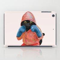 Boxing Cat 2  iPad Case