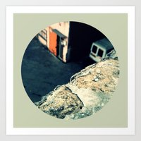 Urban View Art Print