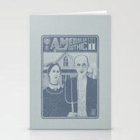 American Gothic II Stationery Cards