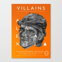 Alex DeLarge  Canvas Print