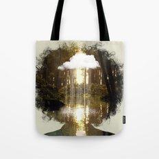 Brain Rain Tote Bag