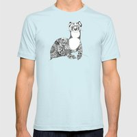 Searching for Dok Mens Fitted Tee Light Blue SMALL