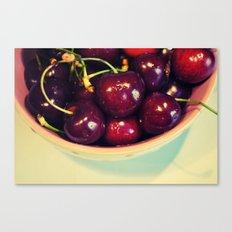 Cherry Blues II Canvas Print