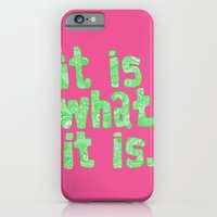 What It Is Pink iPhone 6 Slim Case