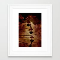 Gondeln Framed Art Print