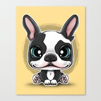 Cute Puppies series N.1 Canvas Print