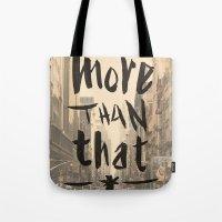 More Than That - New Yor… Tote Bag