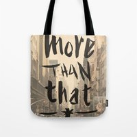 More Than That - New York City - Tote Bag