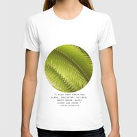 Lemon Grass Womens Fitted Tee White SMALL