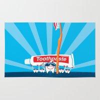 Teeth on Parade Rug