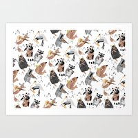Animal Orchestra Art Print
