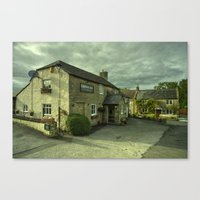 The Crown At Uploders  Canvas Print