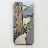 iPhone & iPod Case featuring Trail Tree by Stephanie Smith