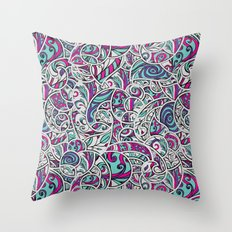 Tangle Pattern #001 Throw Pillow