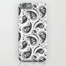 Death Paisley Pattern iPhone 6 Slim Case
