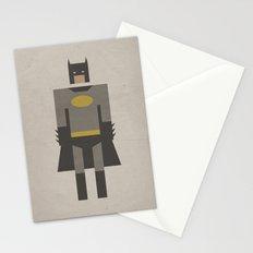 The Dark Night Retro Stationery Cards
