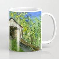 Erwinna Covered Bridge  Mug