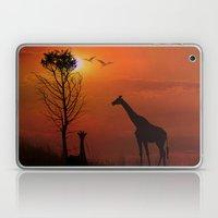 Sunset on the Plaines Laptop & iPad Skin