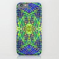 Tribal green iPhone 6 Slim Case