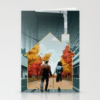 Seeking Suburbia Stationery Cards