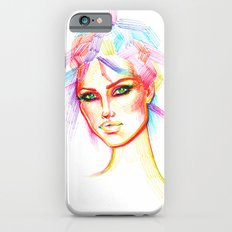 Rainbow Girl iPhone 6 Slim Case