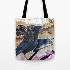 They Talk Tote Bag